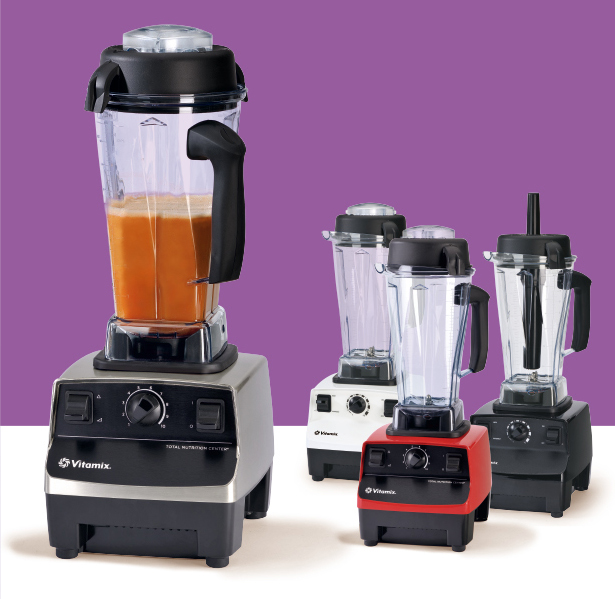 blender Vitamix in 4 colours